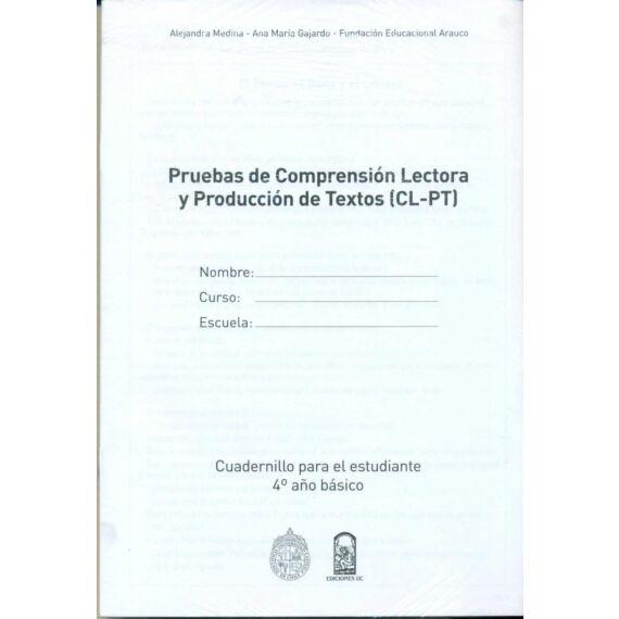 CL-PT. CUADERNILLOS 4º AÑO BÁSICO (SET DE 10 UNIDADES)