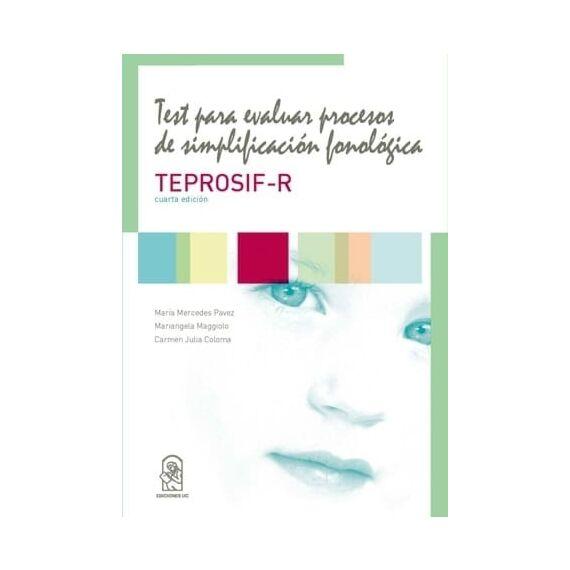 TEST PARA EVALUAR PROCESOS DE SIMPLIFICACIÓN FONOLÓGICA. EDICIÓN REVISADA TEPROSIF-R Y SET DE LÁMINAS. Cuarta edición