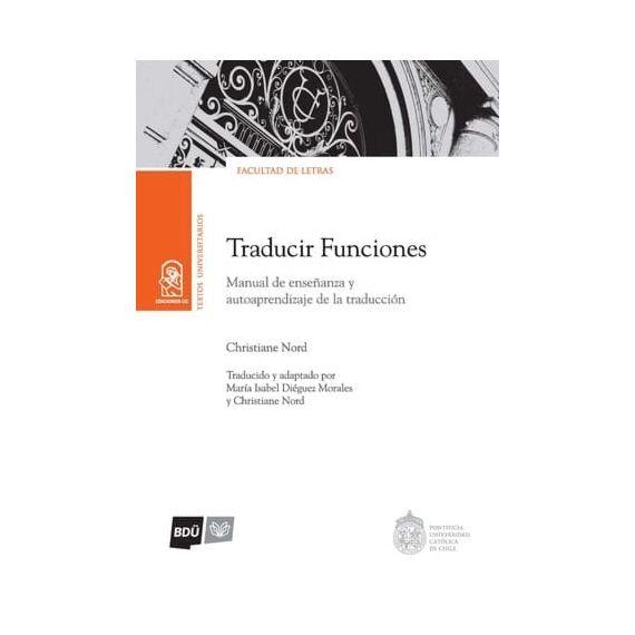 TRADUCIR FUNCIONES. Manual de enseñanza y autoaprendizaje