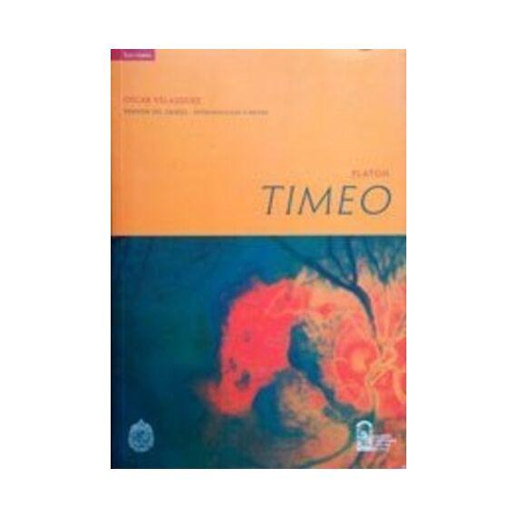 TIMEO PLATÓN. Versión del griego, introducción y notas